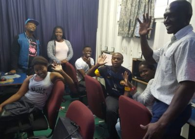 The Tshepo Trust out The Box Students 2018